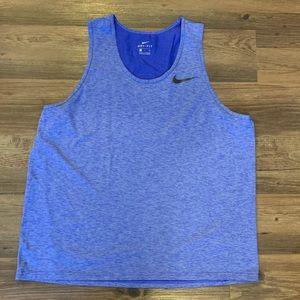 Nike Dri-Fit Men's Dark Blue Tank Top